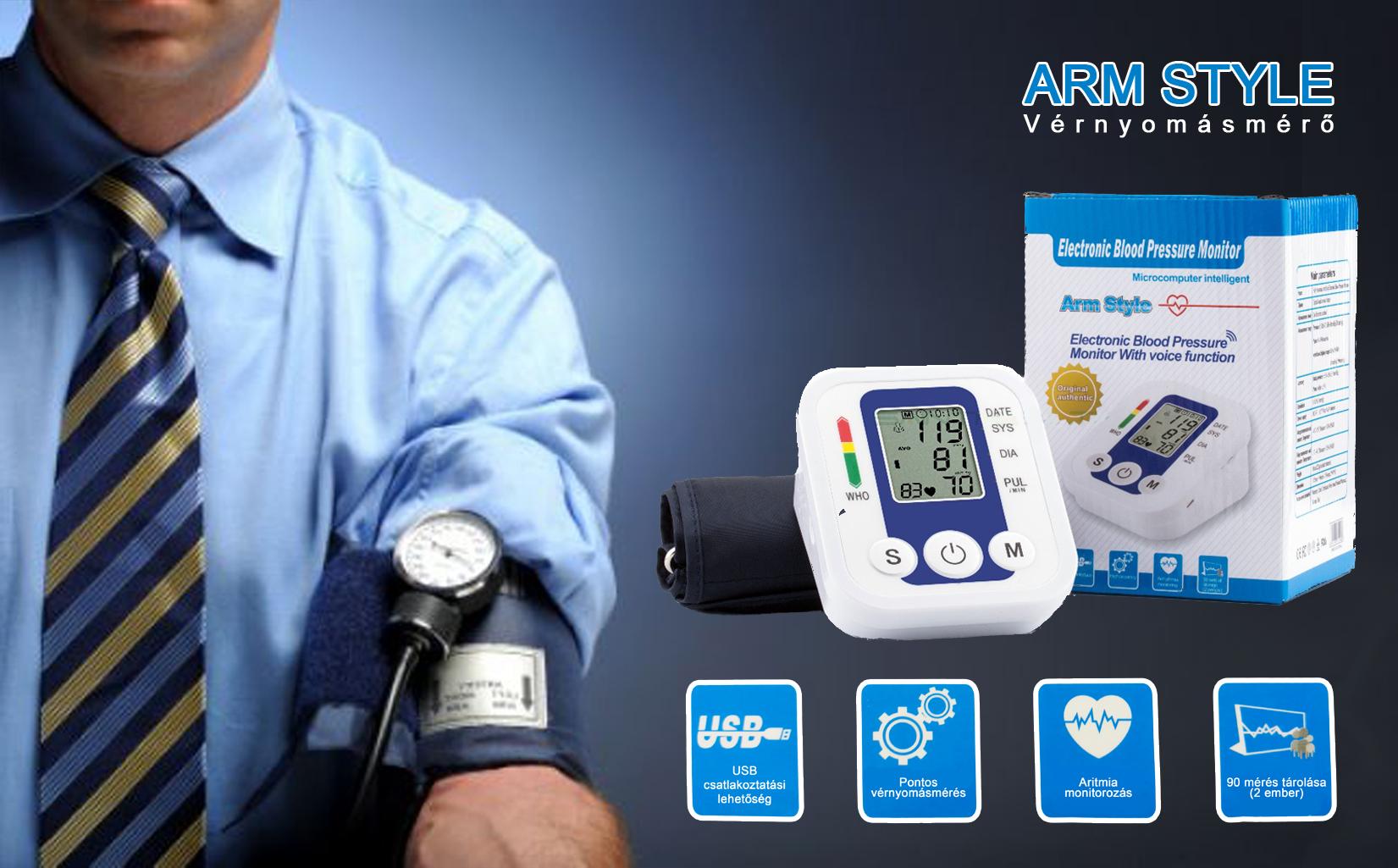 Arm Style vérnyomásmérő  553572cc1f