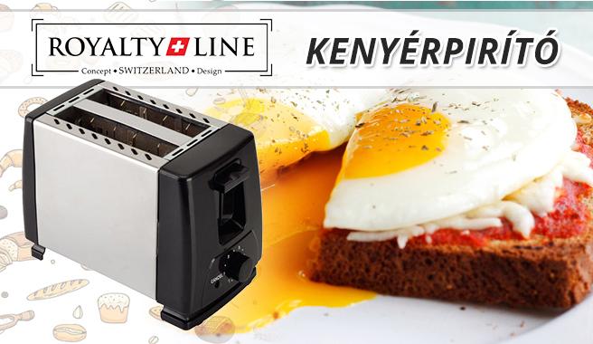Toaster kenyérpirító fém burkolatú  950cdbaac4