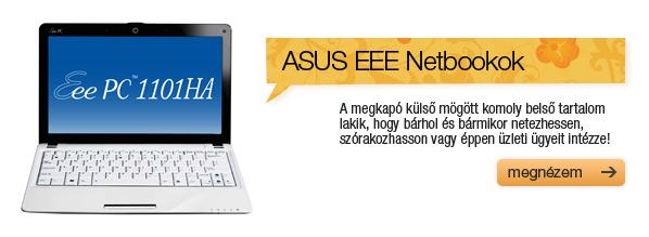 ASUS EEE Netbookok