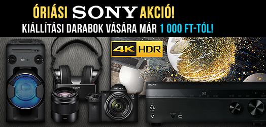 Óriási Sony akció!