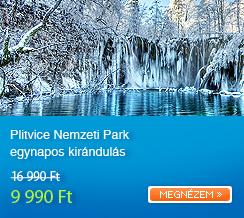 Plitvice Nemzeti Park egynapos kir�ndul�s