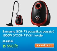 Samsung SC54F1 porzs�kos porsz�v� 1500W (VCC54F1V31) fekete