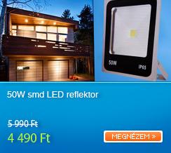 50W smd LED reflektor