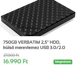 750GB VERBATIM 2,5