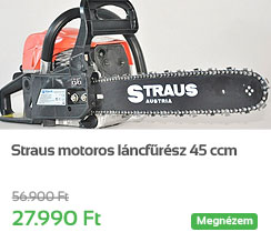 Straus motoros l�ncf�r�sz 45 ccm
