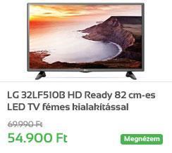 LG 32LF510B HD Ready 82 cm-es LED TV f�mes kialak�t�ssal