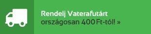 Házhoz visszük - Rendelj Vaterafutárt országosan 400 Ft-tól