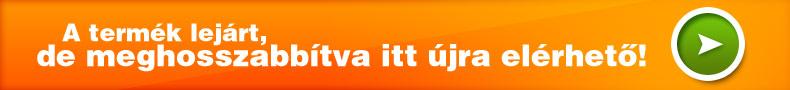 Ez a hirdetés lejárt, meghosszabbítva a következő termékkódon érhető el: 2584393814
