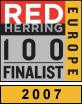 Red Herring 100 Europa Díj Döntősei között